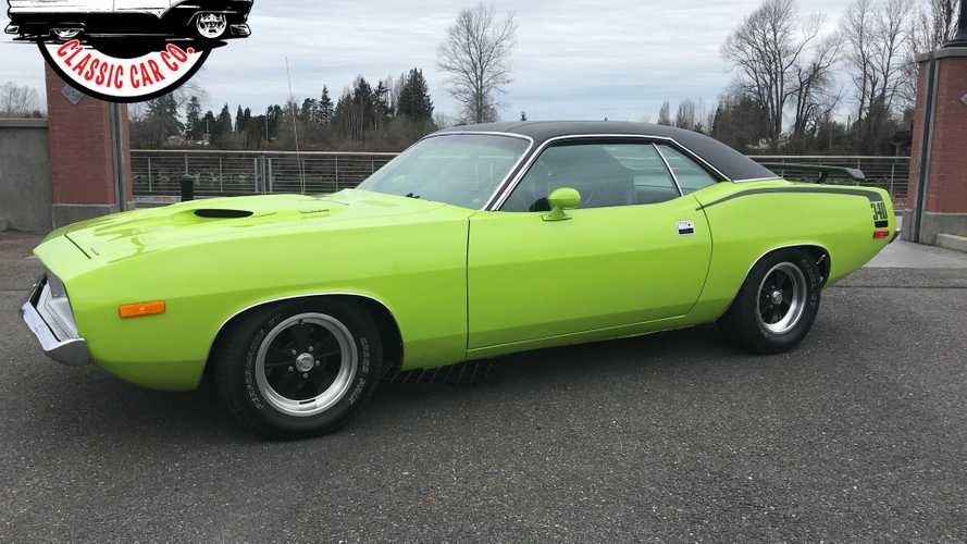 This Plymouth Barracuda Will Have Onlookers Green With Envy