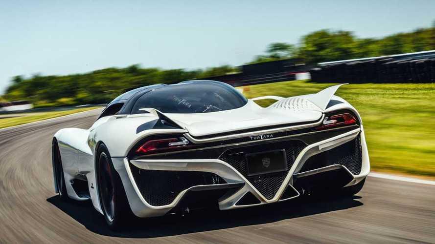 Nagyon úgy tűnik, hogy a világ leggyorsabb sorozatgyártott autója látható a képen