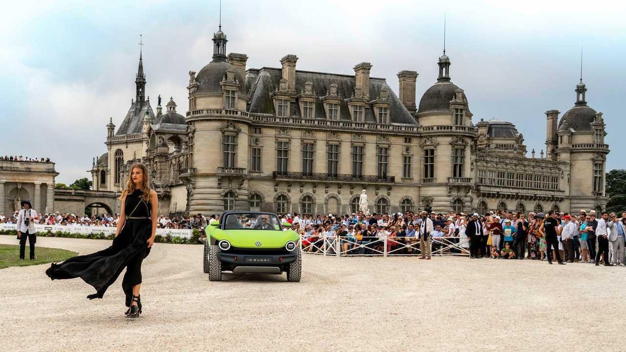Concours d'Elegance'deki Volkswagen Kimliği Buggy