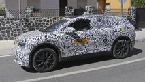 vw id crozz spied first time