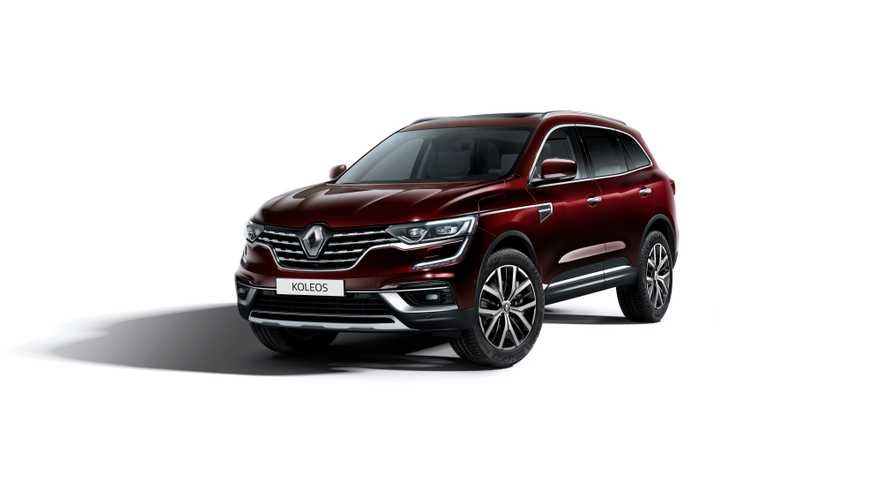 Renault Koleos 2020, un restyling estético mínimo