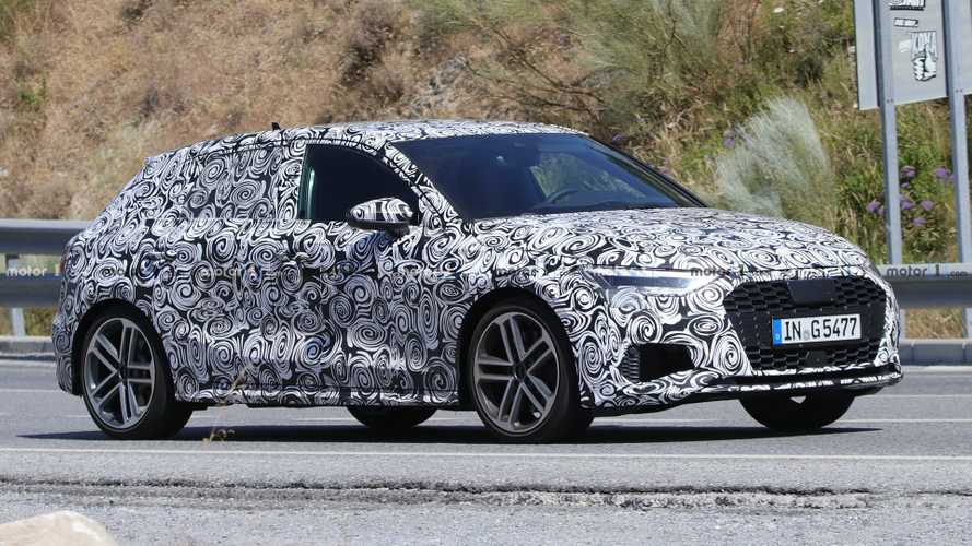 2021 Audi S3 Sportback Spied Looking Ready To Lose Camouflage