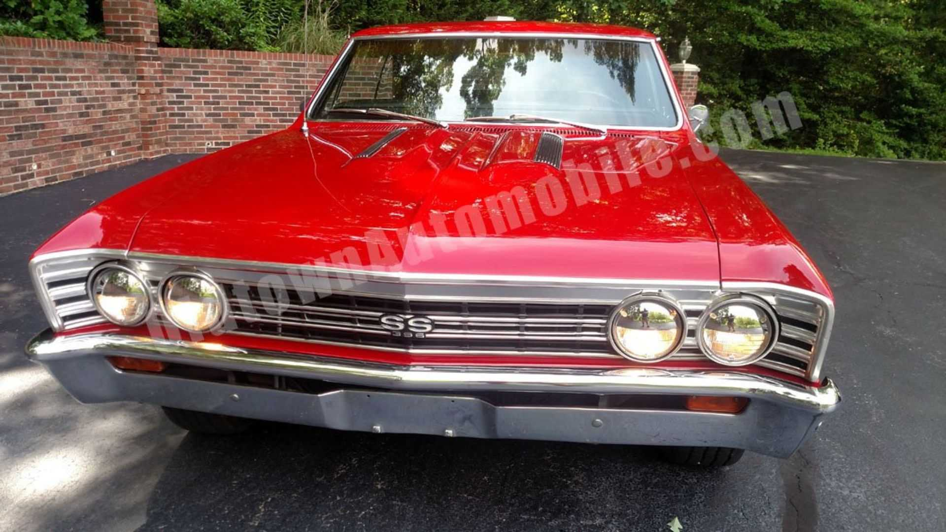 "[""Super Clean 1967 Chevrolet Chevelle SS 396 Will Thrill You""]"