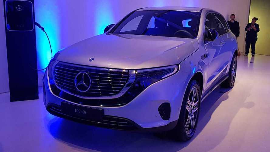 Elétrico Mercedes-Benz EQC é confirmado para 2020 no Brasil