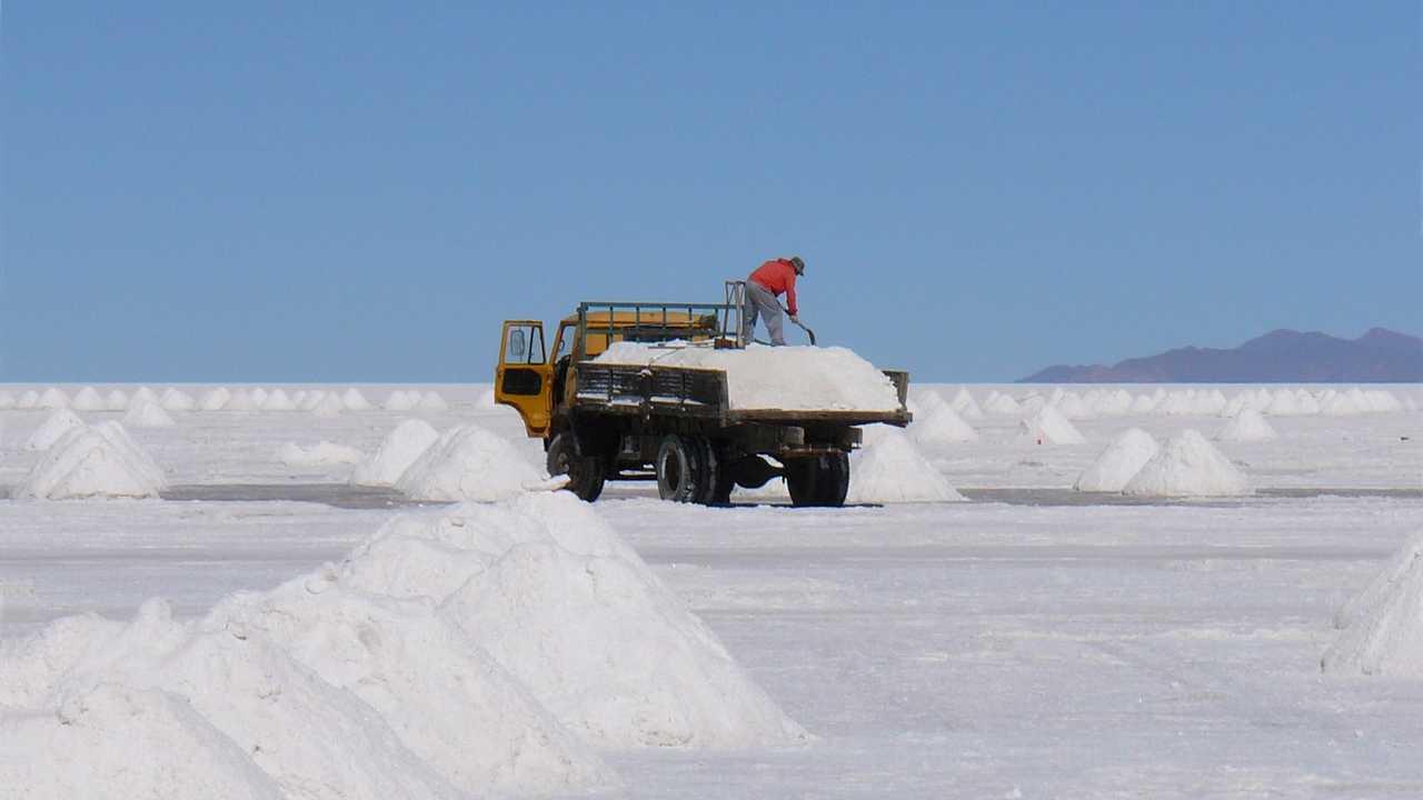 Processi minerari al litio