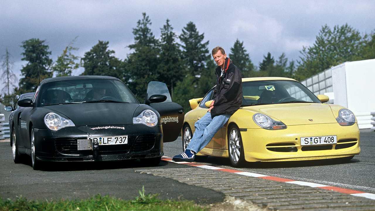 Der GT3 und Walter Röhrl