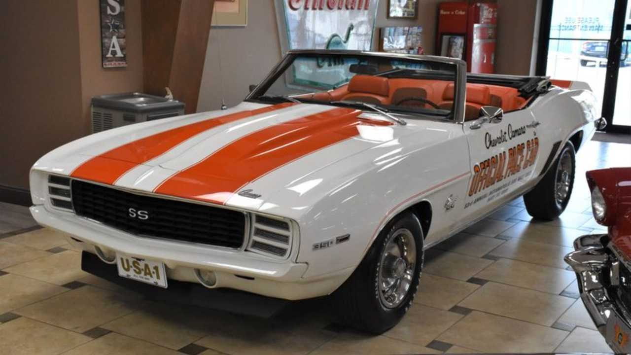 1969 Chevrolet Camaro RS/SS Z11 Pace Car