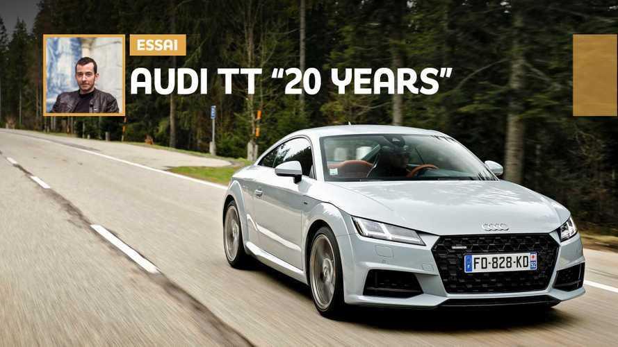 """Essai Audi TT """"20 years"""" - L'âge de la raison ?"""