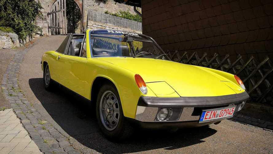 Zeitreise: Unterwegs im VW-Porsche 914 von 1972