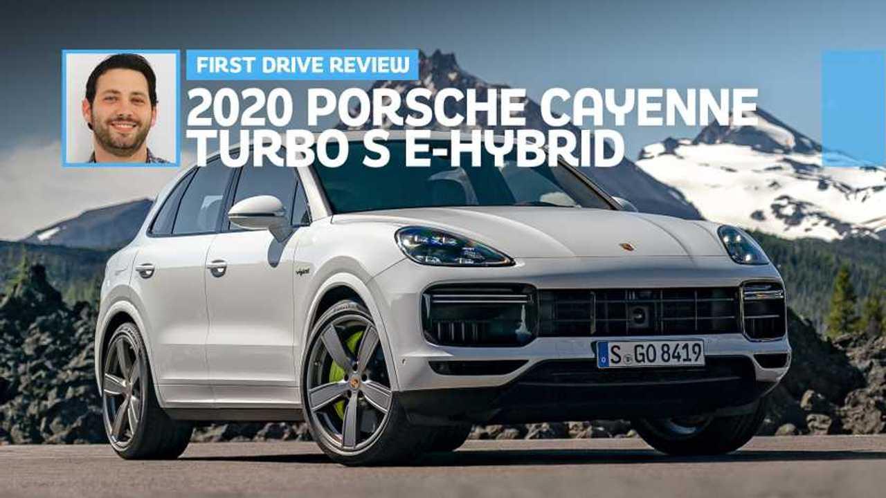 2020 Porsche Cayenne Turbo S E-Hybrid Feature Image