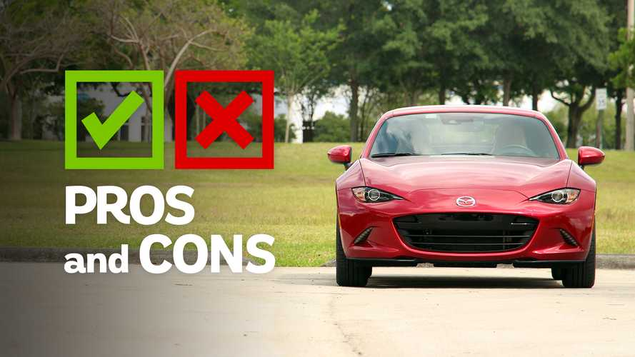 2019 Mazda MX-5 Miata RF A/T: Pros And Cons