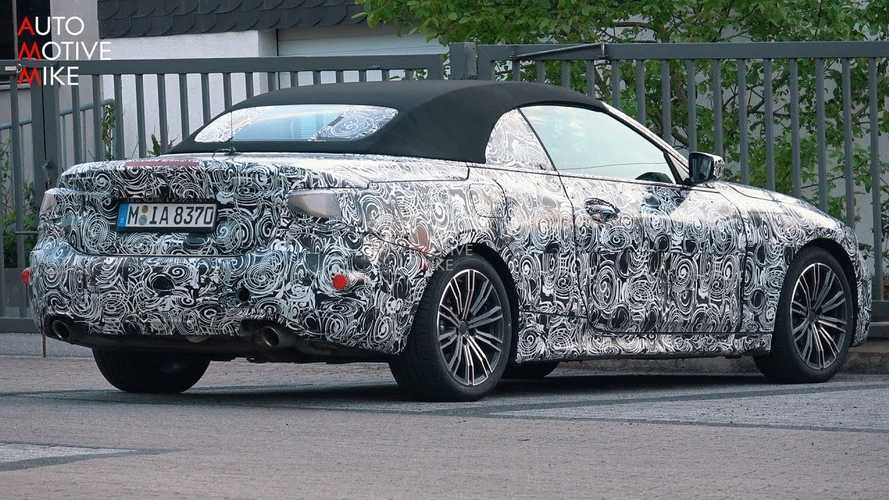 BMW 4 Series Convertible Spied During Another Nurburgring Trip