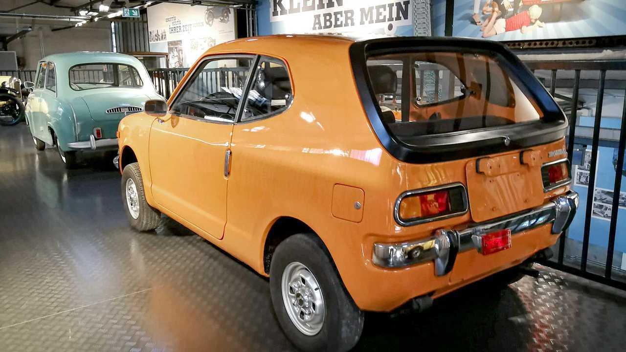 Kleinwagen-Ausstellung in Einbeck: Honda Z