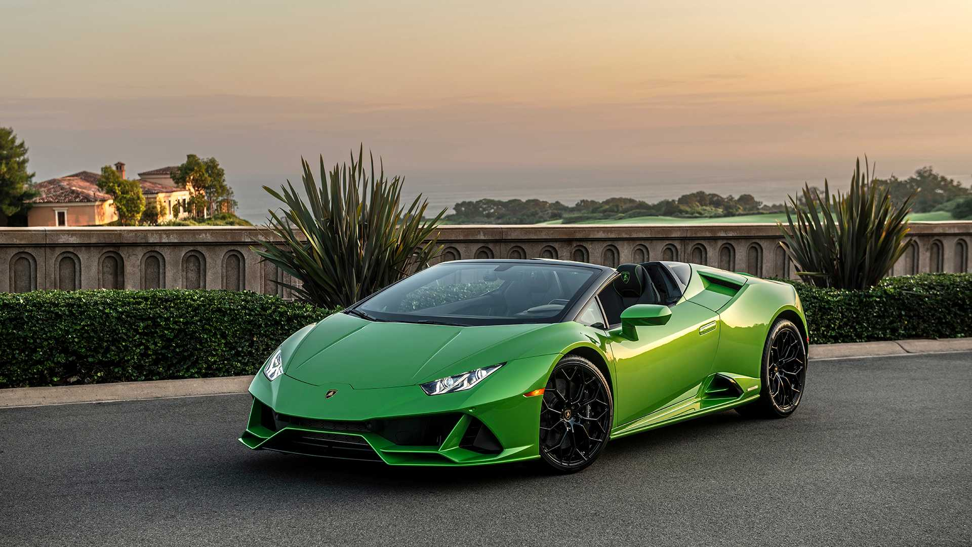 2020 Lamborghini Huracan Evo Spyder First Drive Open,Air