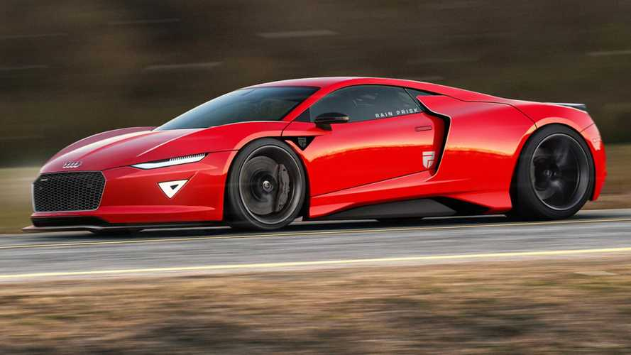 Next-gen Audi R8 rendered imagining supercar's improbable future