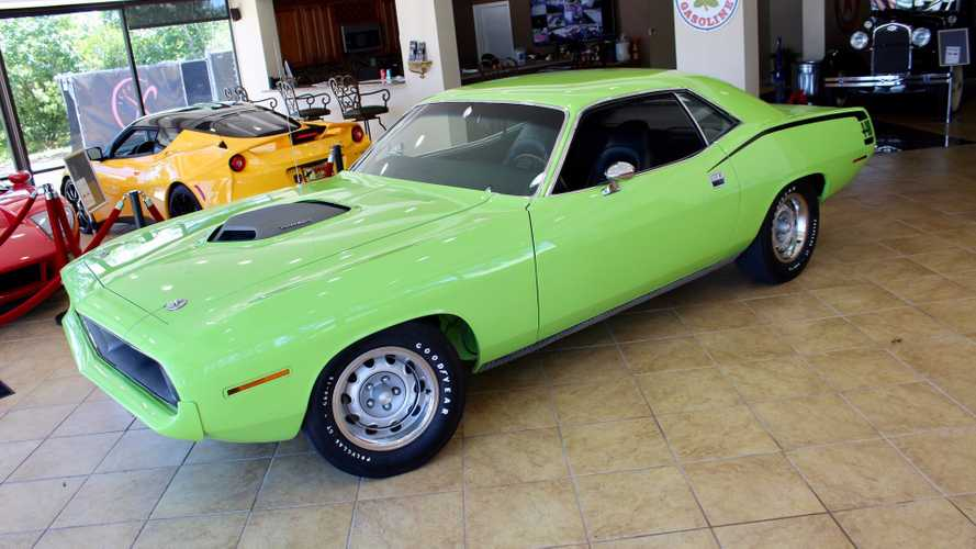Own This Mean Green And 440 Six-Pack Powered 1970 Cuda