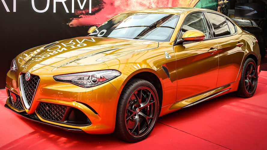 Unique Alfa Romeo Giulia Gets Retro-Inspired Ochre Paint