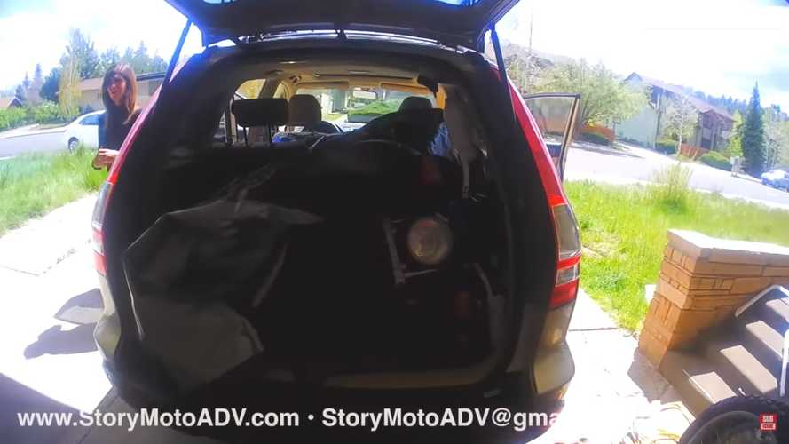 How To Put A Motorcycle In Your Car