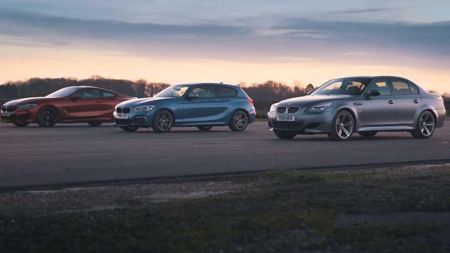 VIDÉO - La M5 E60 affronte les BMW M140i et 840d