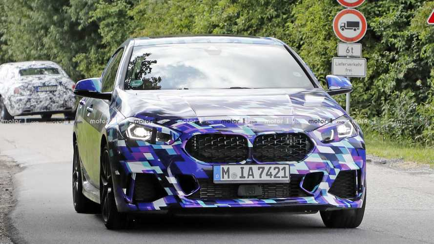 2020 BMW 2 Series Gran Coupe new spy photos