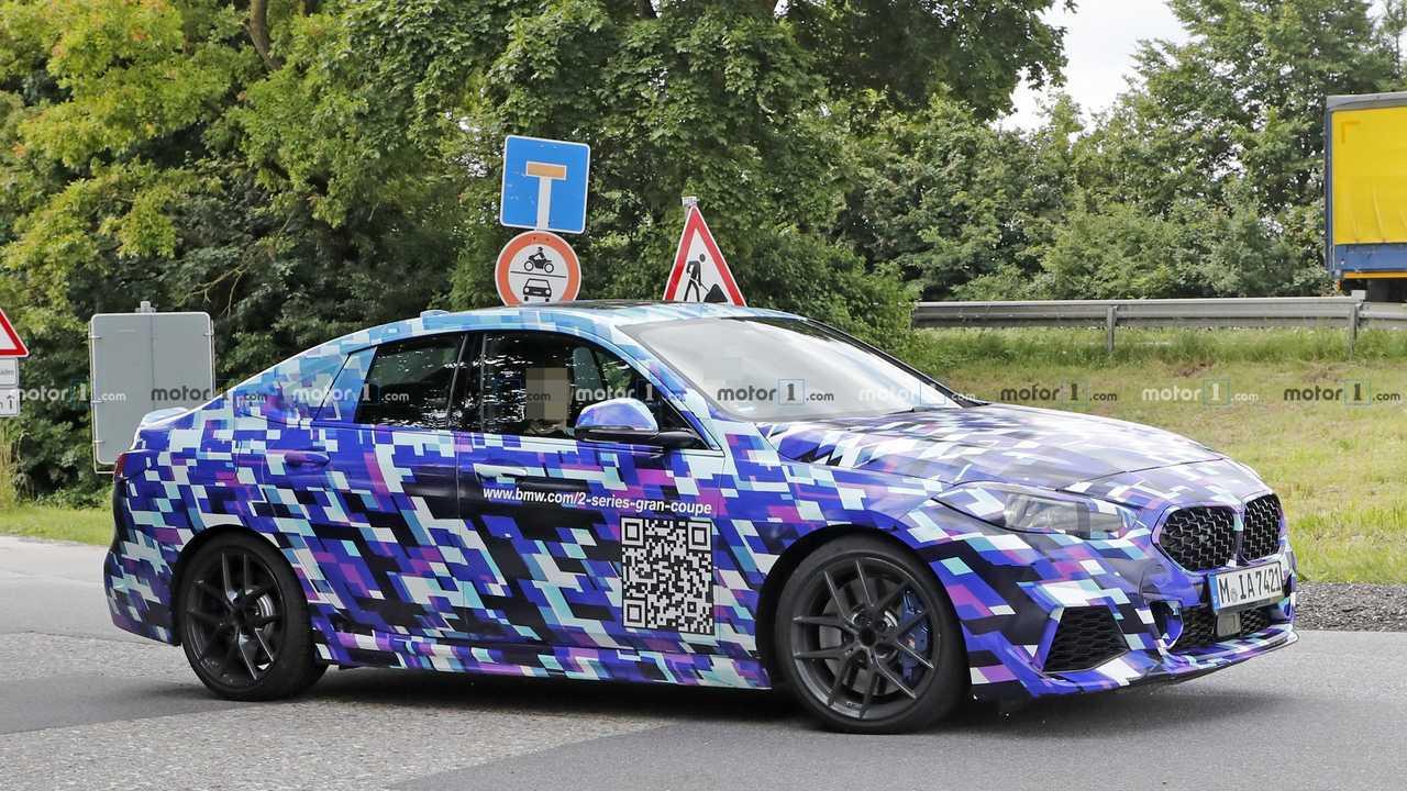 2020 BMW 2er Gran Coupé Spionfoto