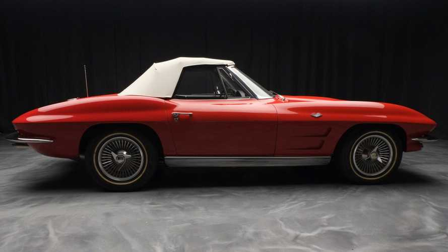 Unblemished 1963 Chevy Corvette Convertible Ready For New Home
