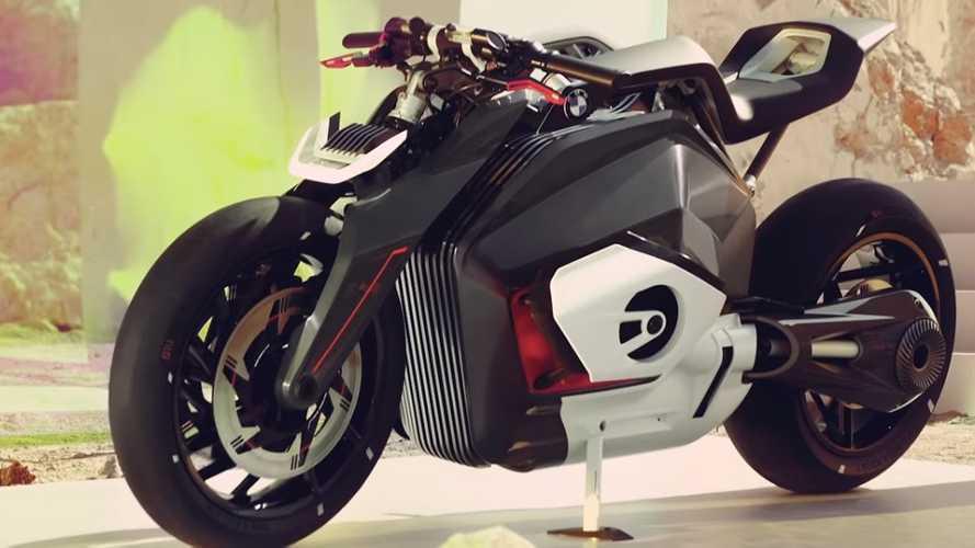 BMW'nin elektrikli roadster motosiklet konsepti: Vision DC Roadster