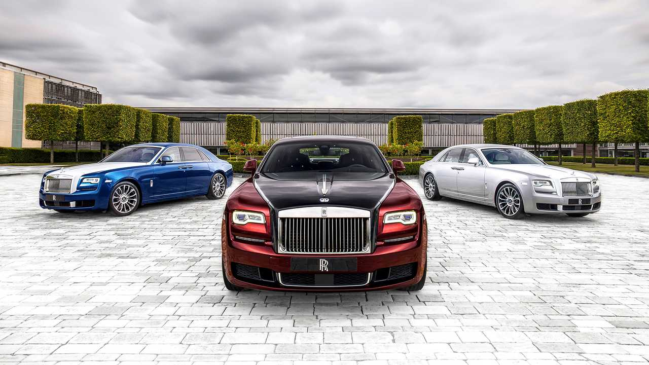 Rolls-Royce Ghost Zenith Collector's Edition