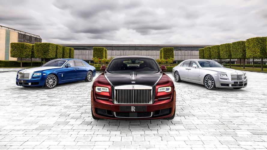 Rolls-Royce Ghost Zenith Collection: Edles Ende