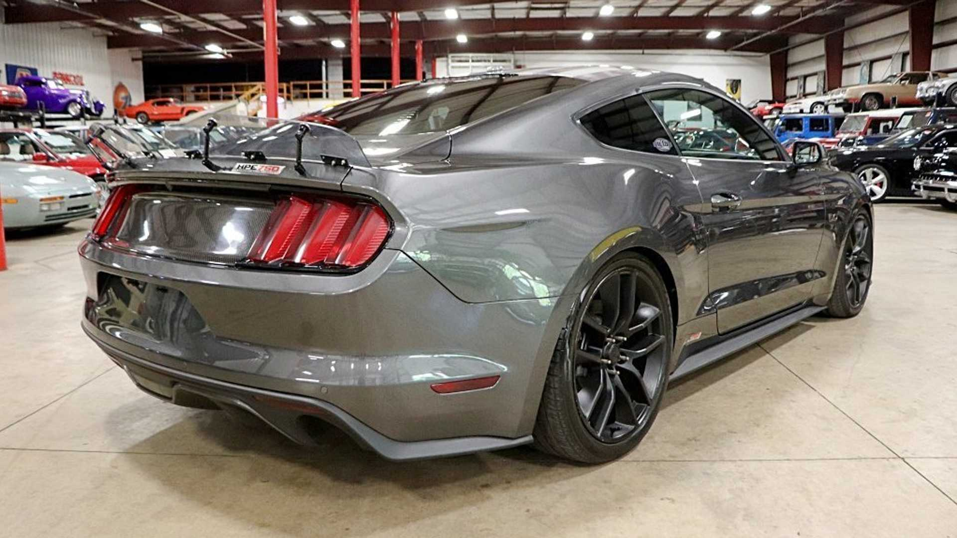 """[""""2015 Ford Mustang GT Hennessey Is A Supercharged Powerhouse""""]"""
