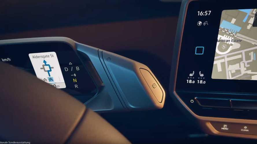 Volkswagen montre l'intérieur de l'ID. 3 dans une vidéo