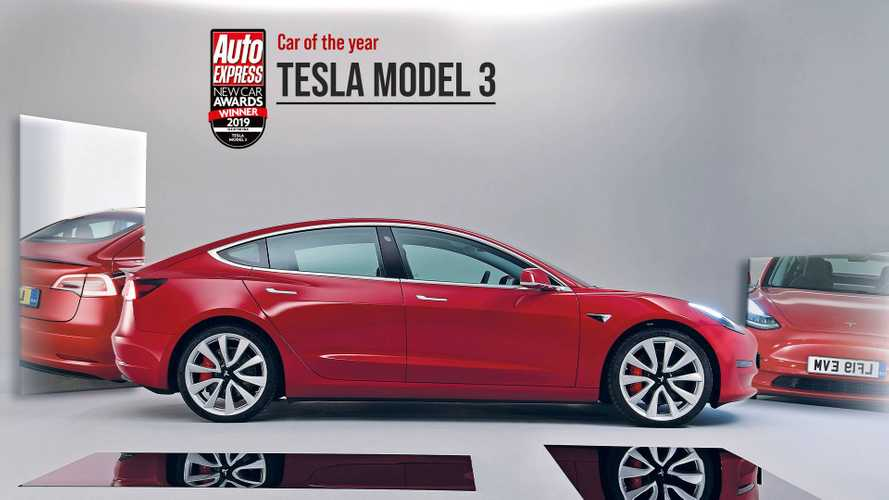 Tesla Model 3 Wins 2019 Auto Express Car Of The Year Award