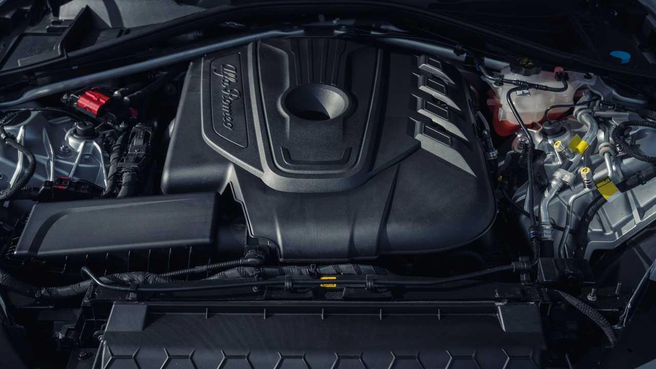 F154 V6 - Alfa Romeo sulla Giulia Quadrifoglio