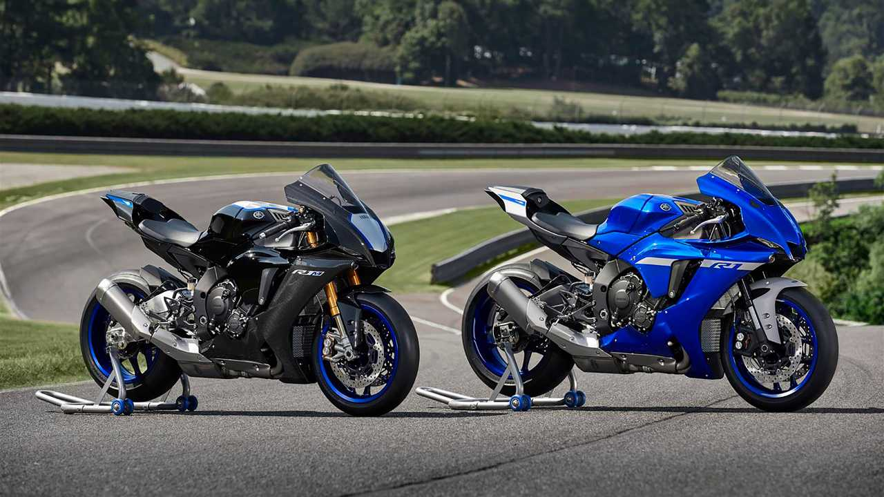 2020 Yamaha YZF-R1 And YZF-R1M