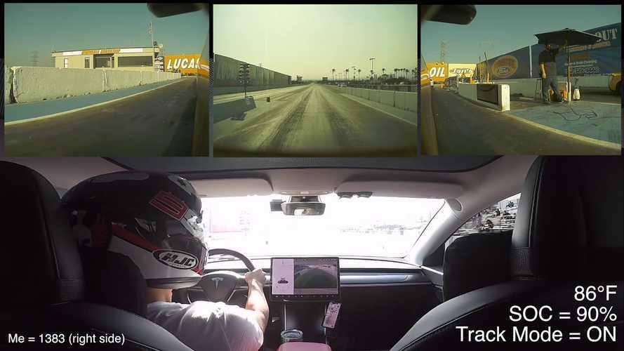 Watch Tesla Model 3 Performance Vs BRZ, Mustang GT, Camaro: Drag Race