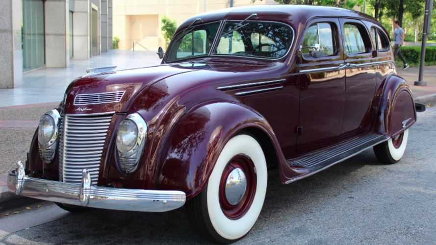 Incredible 1937 Chrysler Airflow Offers Some Serious History