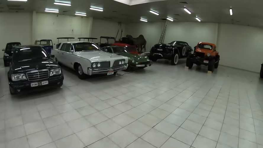 Abu Dhabi Zero-Mile car collection