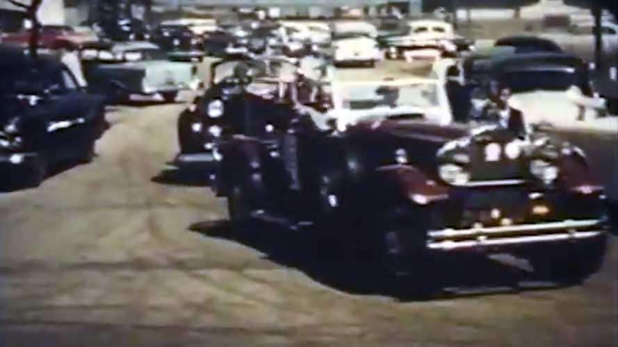 Vintage Footage Of The CCCA's 1957 Milwaukee CARavan