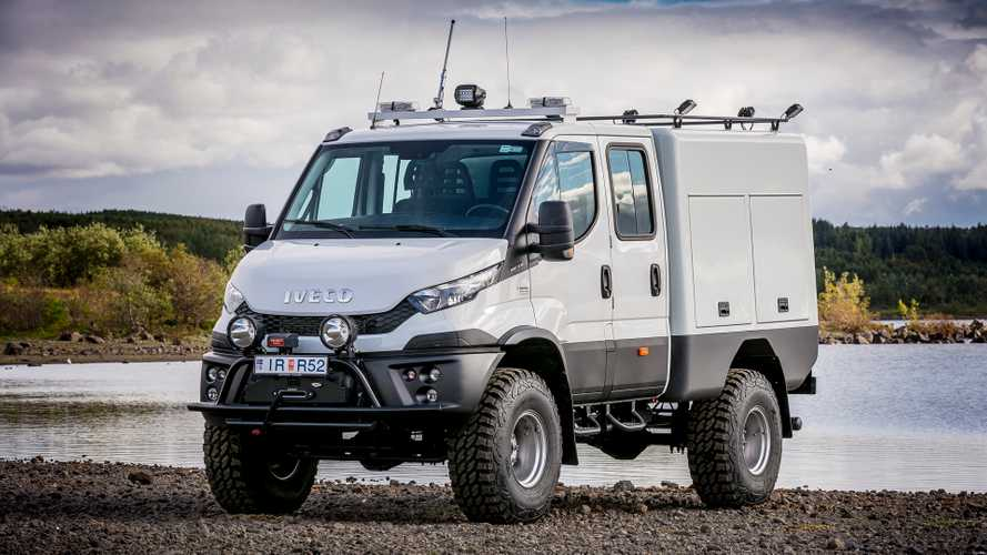 Iveco Daily 4x4 AT40 un gioliello di Arctic trucks