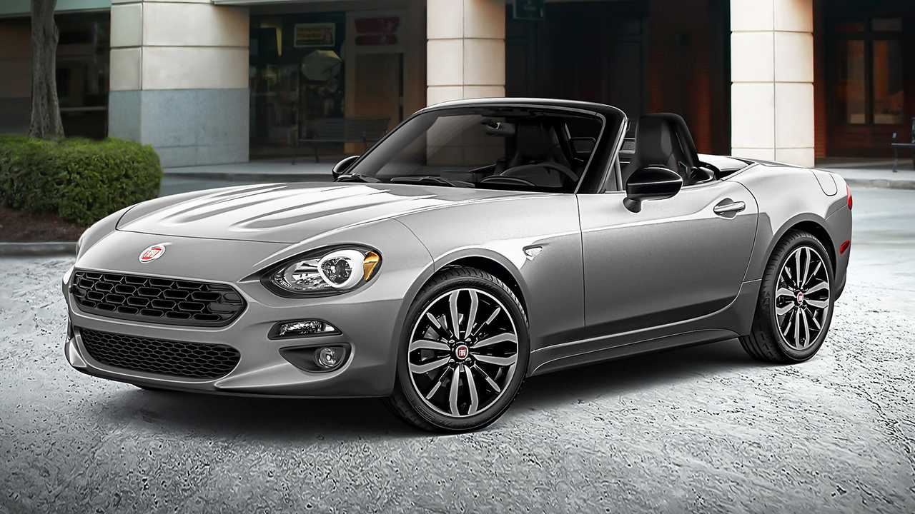 2019 fiat 124 spider urbana edition debuts with visual. Black Bedroom Furniture Sets. Home Design Ideas