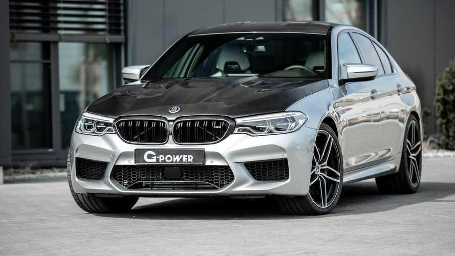 BMW M5 de G-Power, con mucha fibra de carbono a la vista