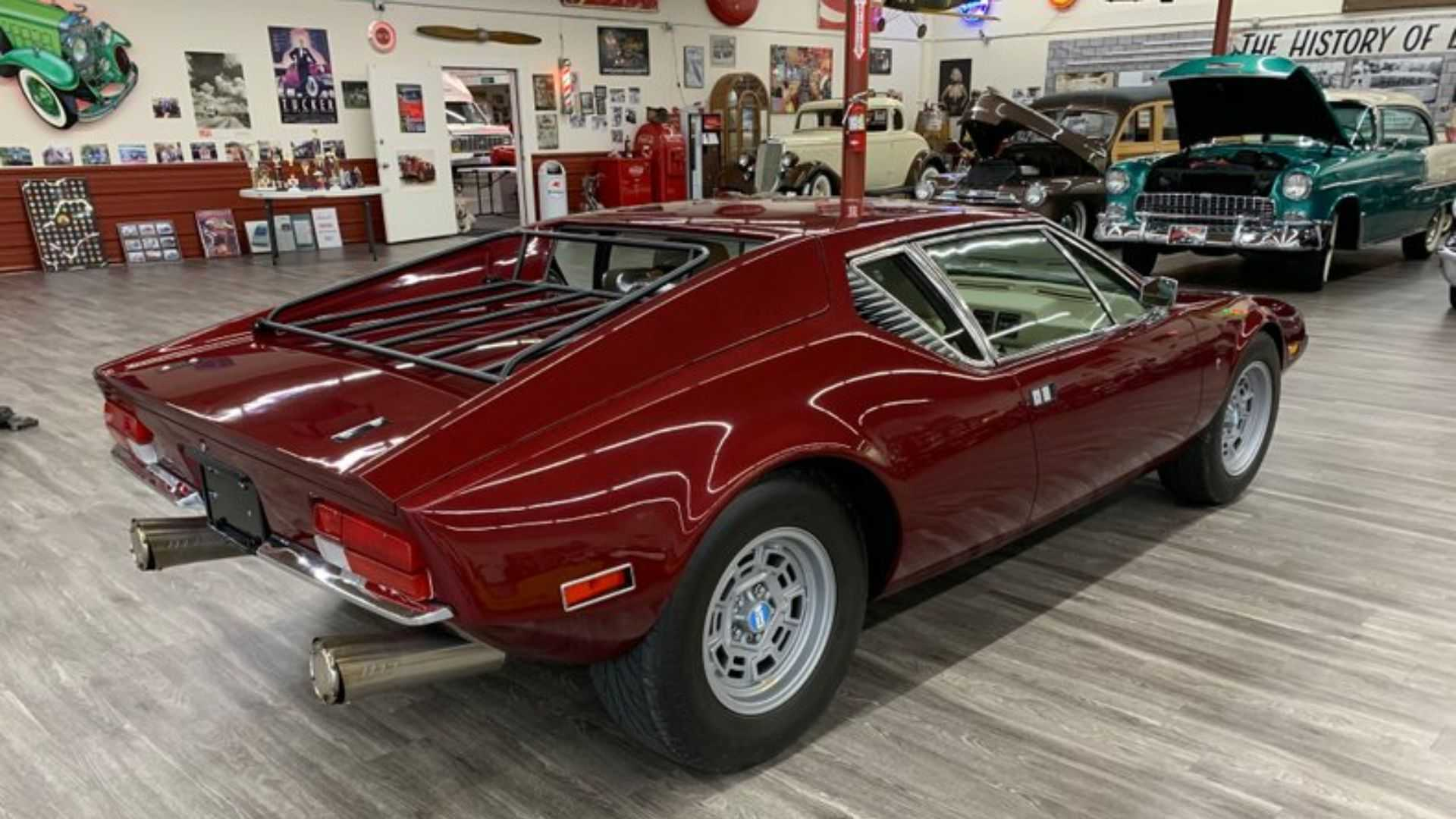 "[""Amazingly Clean 1971 De Tomaso Pantera Up For Grabs""]"