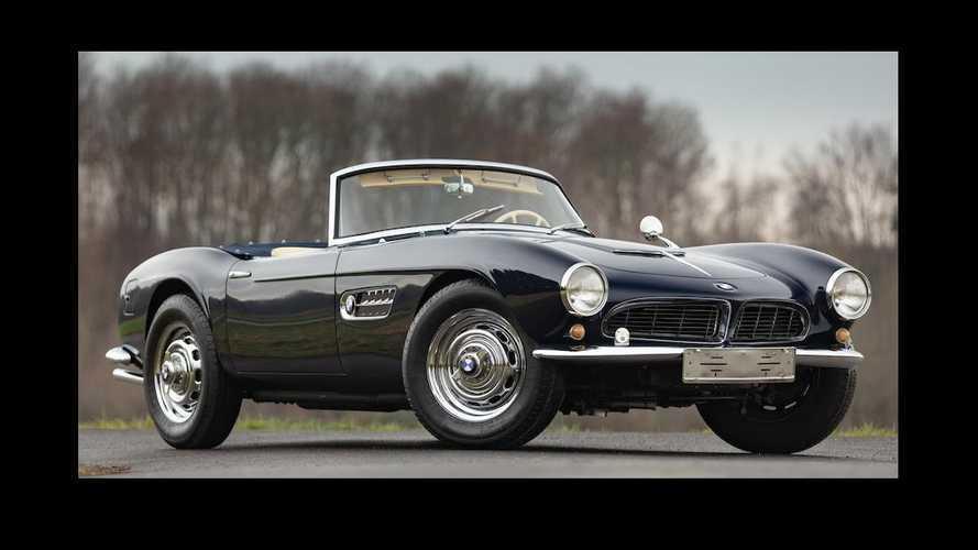 Cette BMW 507 de 1959 vedette de la vente Bonhams à Chantilly