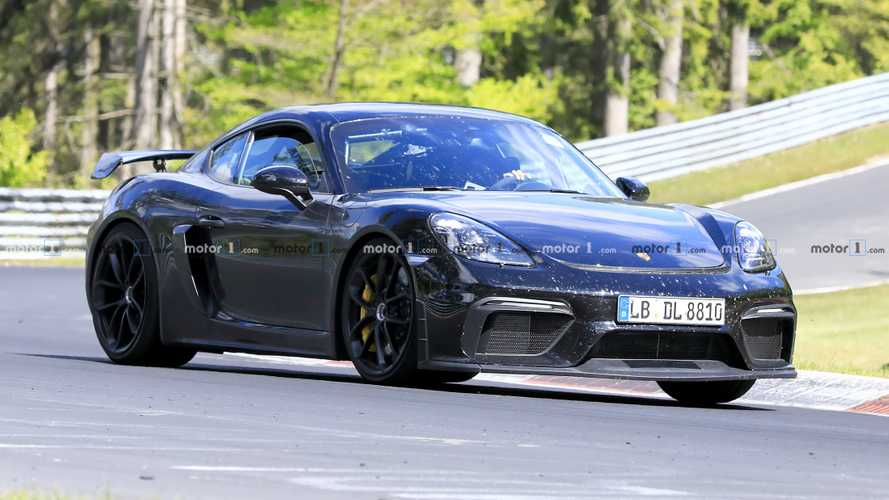 2020 Porsche 718 Cayman GT4 Spied Completely Uncovered At The 'Ring