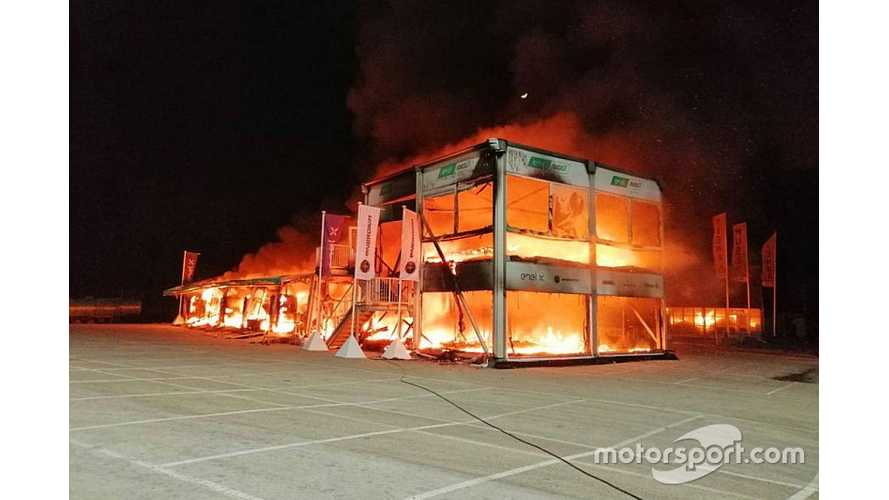 Formula E Offers Support To MotoE After Fire