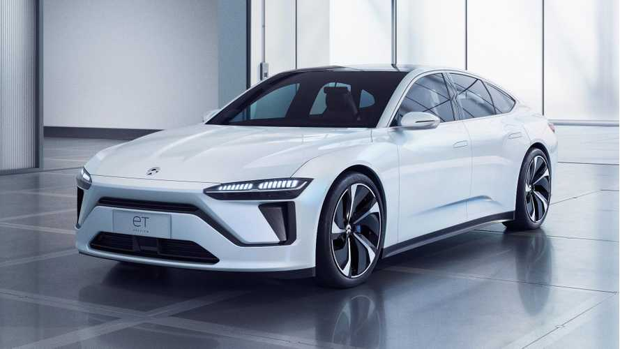 New NIO ET Preview Electric Car Revealed In Shanghai