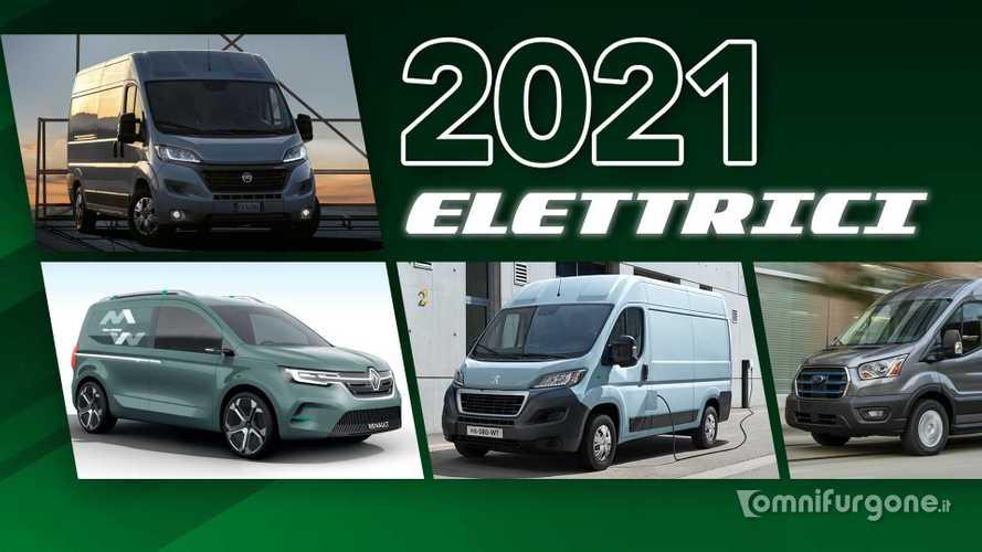 Furgoni elettrici, tutte le novità in arrivo nel 2021