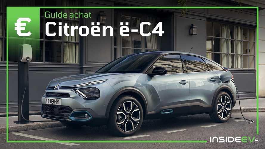 Guide Citroën ë-C4 - Autonomie, puissance, équipement et prix