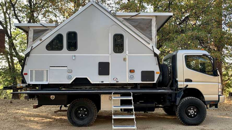 This Motorhome With An A-Frame Pop-Up Makes All Sorts Of Sense