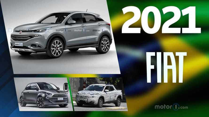 Fiat: os lançamentos previstos para 2021 no Brasil